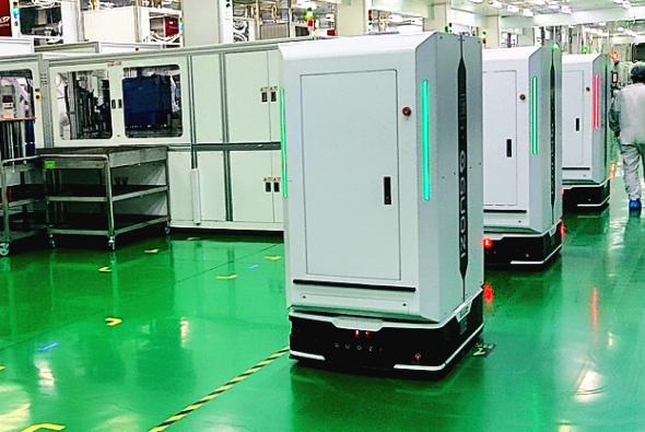 案例解析 | 国自光伏行业晶硅电池生产线智能搬运解决方案
